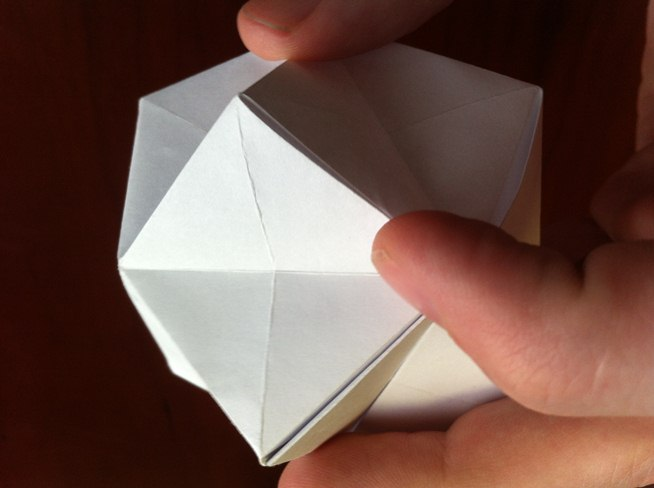 How to Fold a Textured Origami Ball « Origami