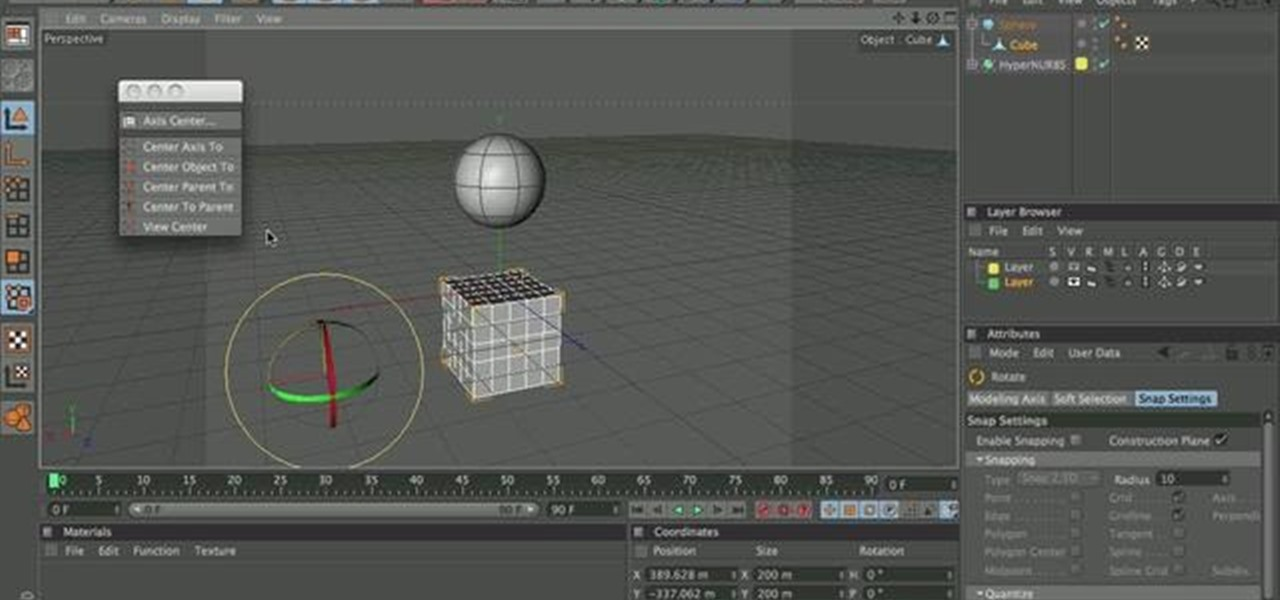 How to Use the cluster tool in Cinema 4D « CINEMA 4D