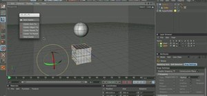 Use the object axis tool in MAXON Cinema 4D