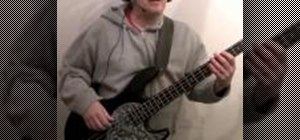 """Play the bass line to David Bowie's """"Let's Dance"""""""