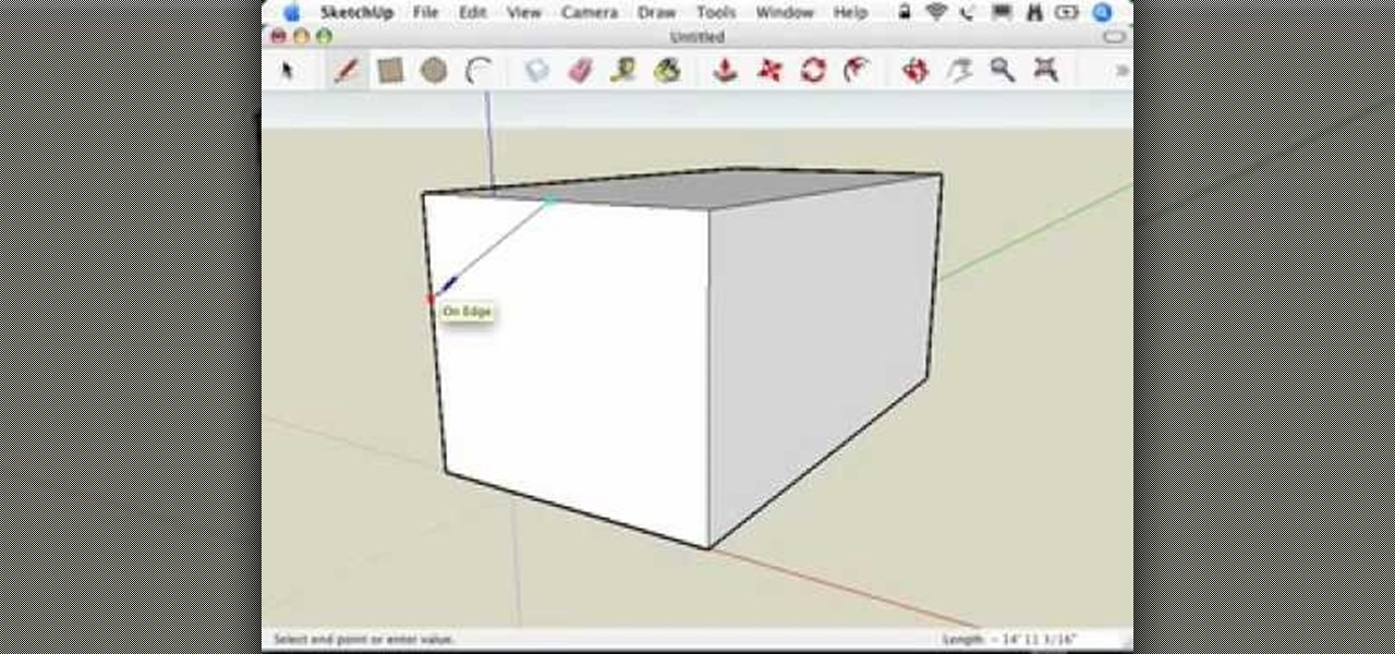 How to model a dog house in sketchup software tips for Software to model a house