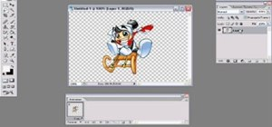 Create a transparent image in Photoshop