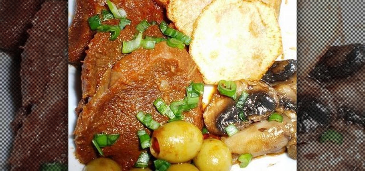 How To Make Filipino Lengua Estofada Braised Beef Tongue Meat Recipes Wonderhowto