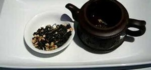 Brew jasmine tea