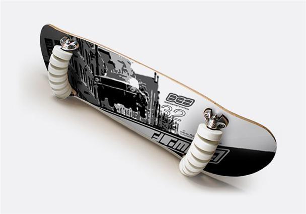 14-Wheeled Skateboard: Is More Better?