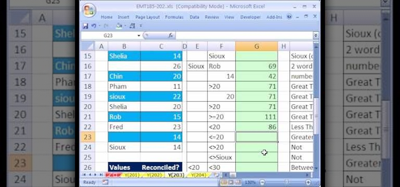 how to use the sumif function in microsoft excel 2007  u00ab microsoft office    wonderhowto