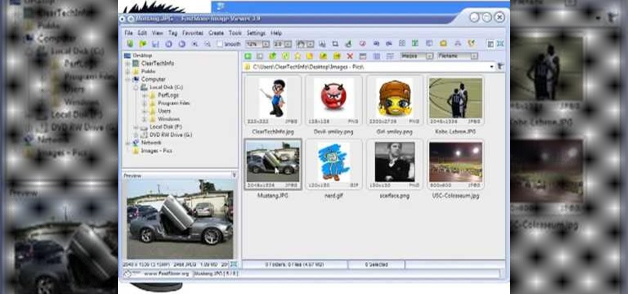 How to Use FastStone Image Viewer: the basics « Software