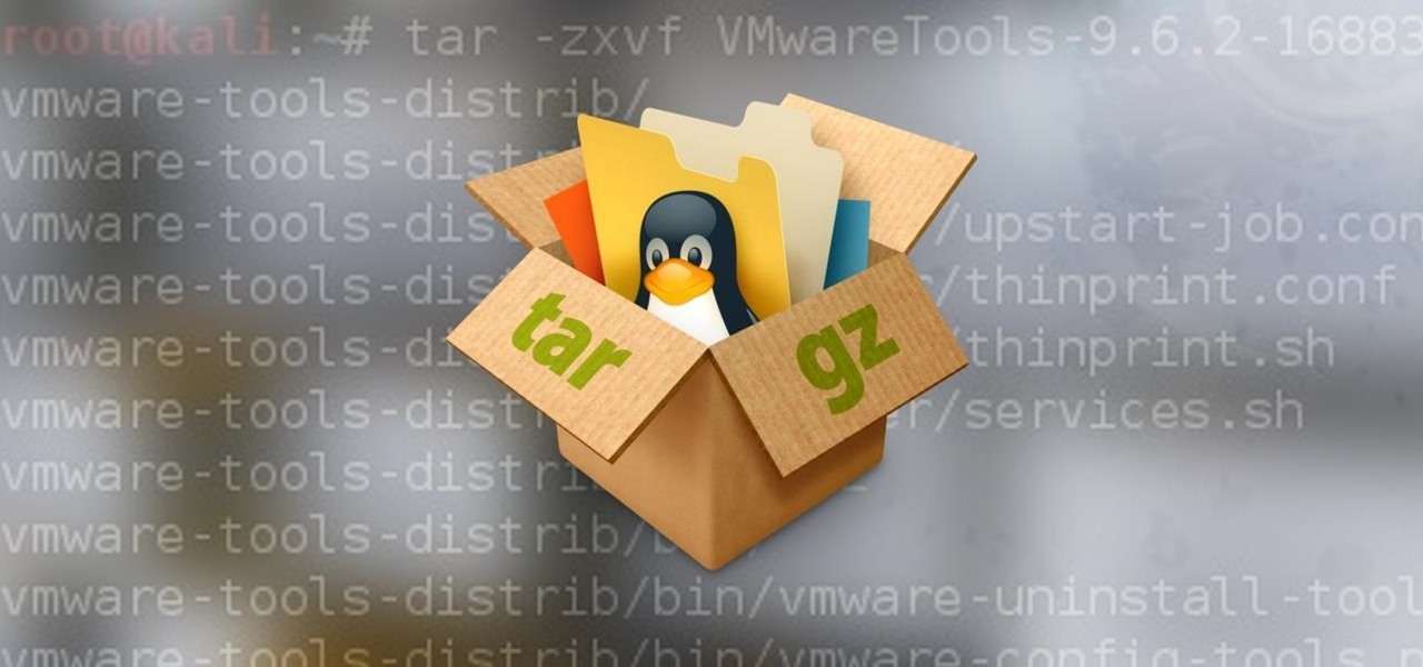 Linux Basics for the Aspiring Hacker: Archiving & Compressing Files