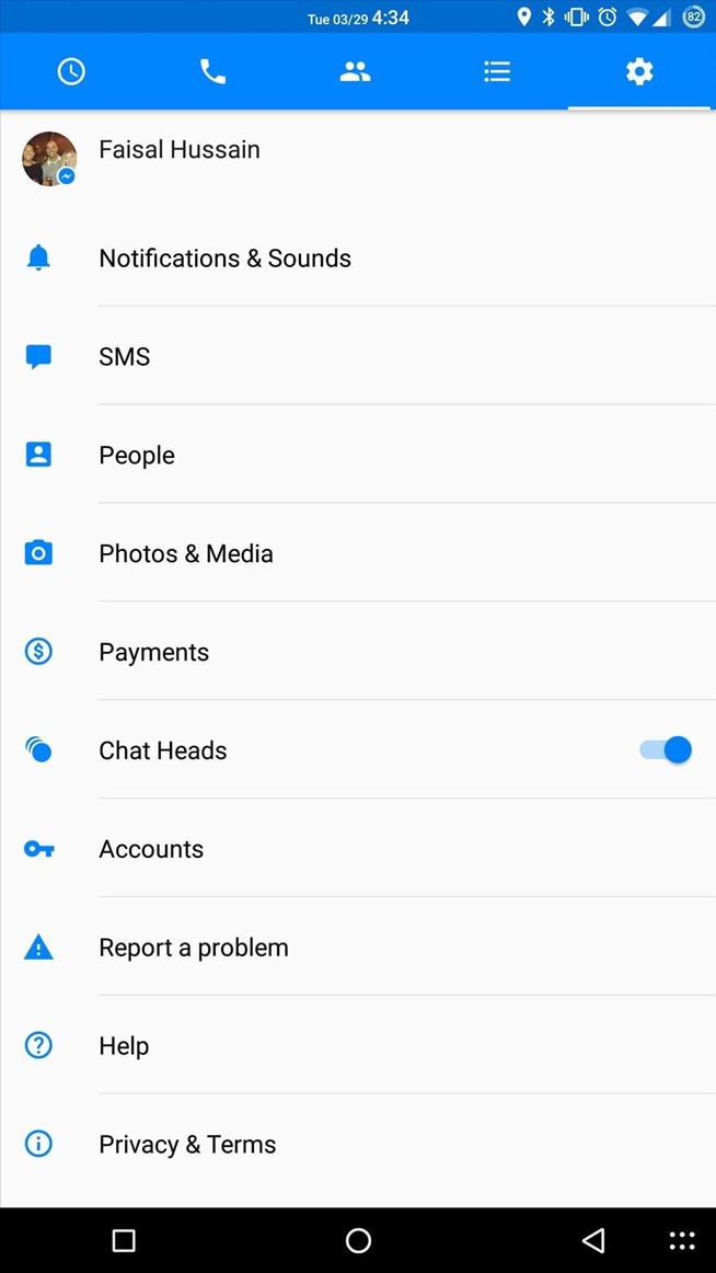 You Can Now Send Texts in Facebook Messenger's Android App