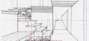 Draw an urban garden using complex levels