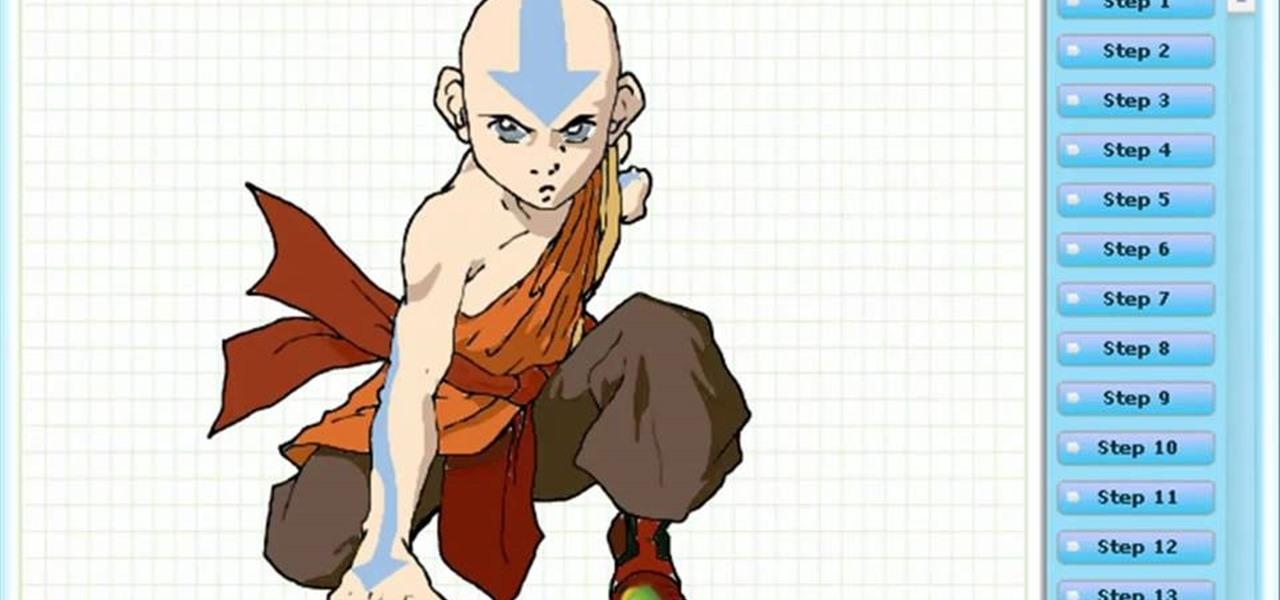 Draw Aang
