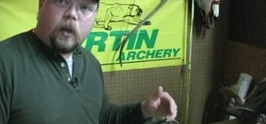 Measure and cut a bow hunting arrow
