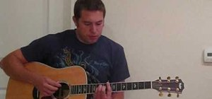 "Play ""Use Somebody"" on acoustic guitar"