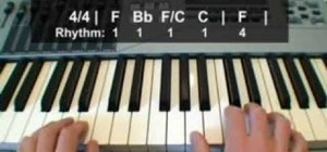 "Play the ""Twelve Days of Christmas"" on the piano"
