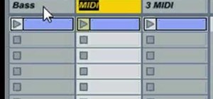Use shortcuts to rapidly rename tracks in Ableton Live
