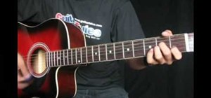 """Play """"Crazy For This Girl"""" by Evan and Jaron on guitar"""
