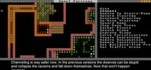 Plan a basic fortress setup, farm, and channel in Dwarf Fortress 2010