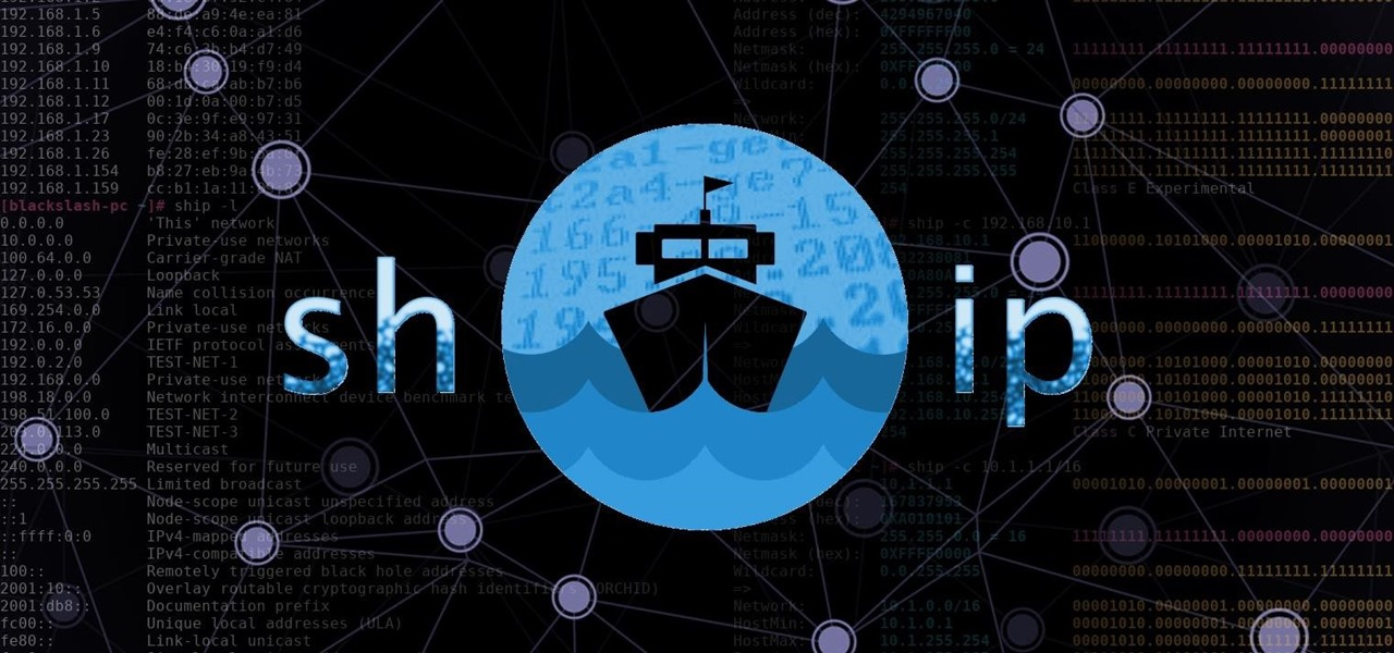 How To: Linux Basics for the Aspiring Hacker: Using Ship for Quick & Handy IP Address Information