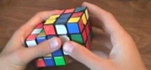 Solve a Siamese Rubik's Cube