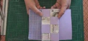 Make a pop-up concertina money card