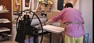 Do linoleum reduction printmaking