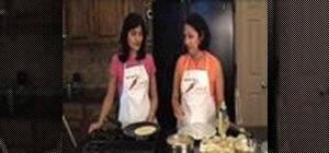 Make Indian aloo paratha (potato stuffed flatbread)