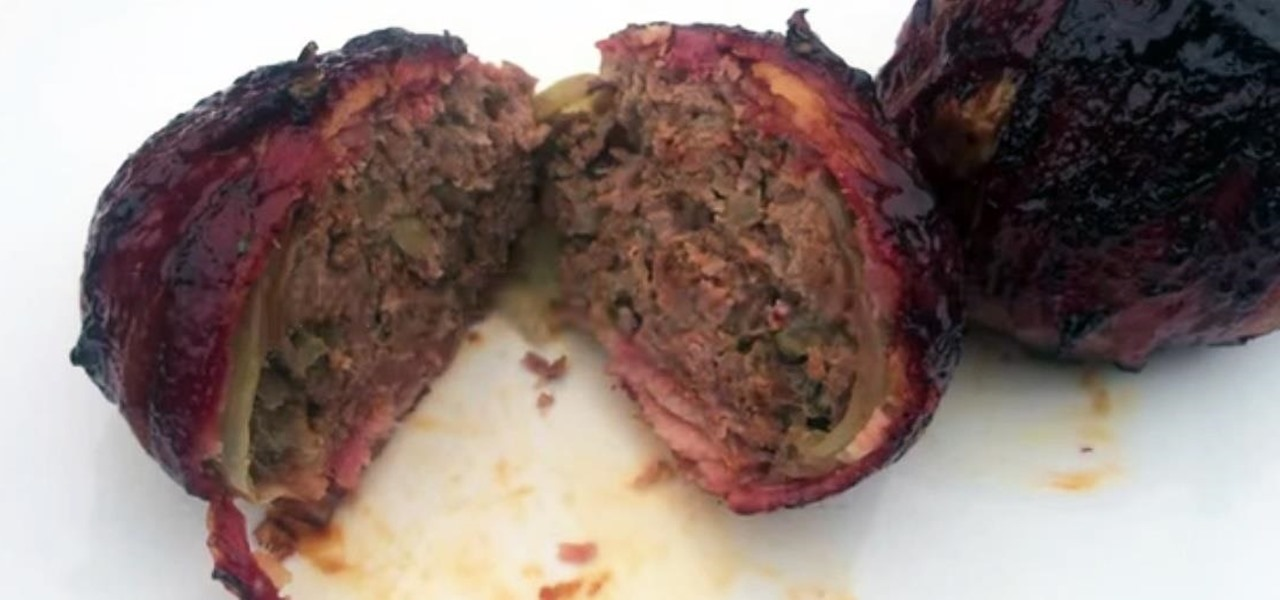 Make Meatball Onion Bombs