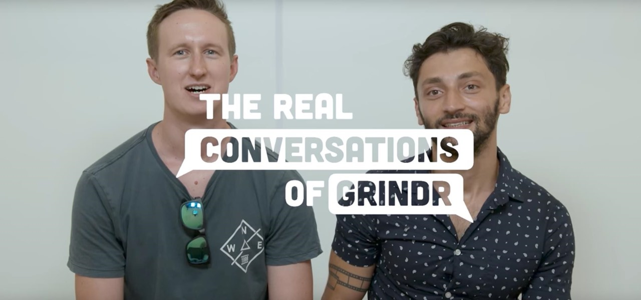 Grindr Conversations Confront the Major Stigma Surrounding HIV in Recent Project