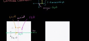 Graph points using Cartesian coordinates