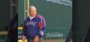 Throw a change-up pitch with Nolan Ryan