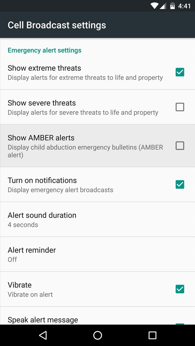 How to Customize or Disable Emergency Alerts on Android