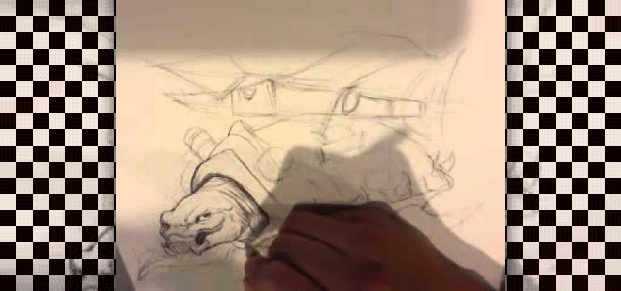 Draw a Battle Turtle