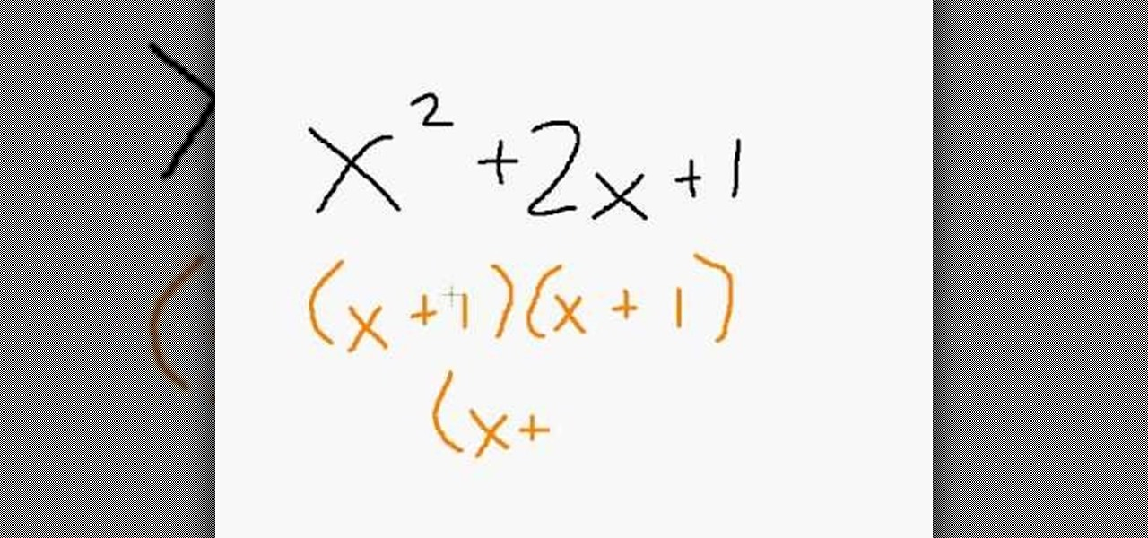 How to Factor & simplify different algebraic expressions « Math