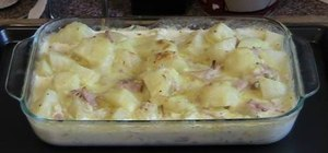 Make a creamy chunky potato bake