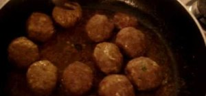 Make Pakistani kofta (meatballs in gravy)