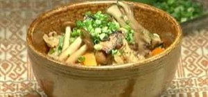 Cook Sanma Takikomi Gohan or Japanese fried rice