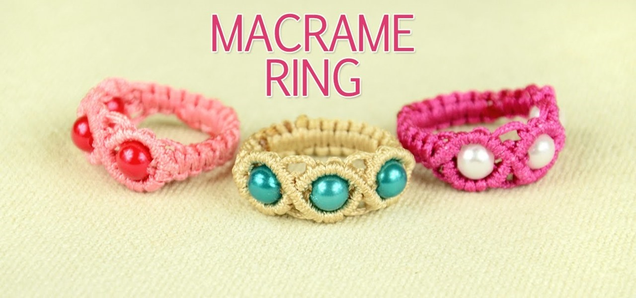 Make a Macrame Ring