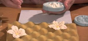 Make a lifelike gumpaste petunia flower for cake decorating
