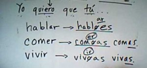 Use present subjunctive in Spanish