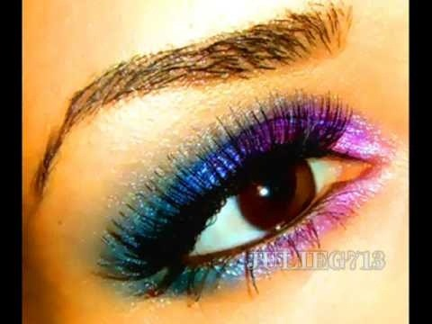 How To Get Winter Rainbow Multi Colored Eyes With Your