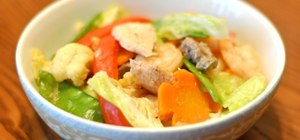 Make Filipino-style chopsuey