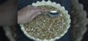 Make pecan pie