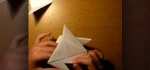 Make an origami paper cube with 6 sheets of paper