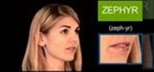 "Pronounce the English word ""zephyr"""