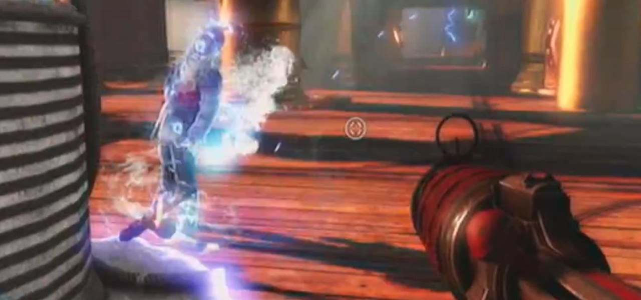 "Earn the ""Hazard Pay"" Achievement in BioShock: Infinite"