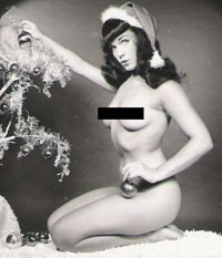 Pose like Bettie Page, America's Pinup Queen