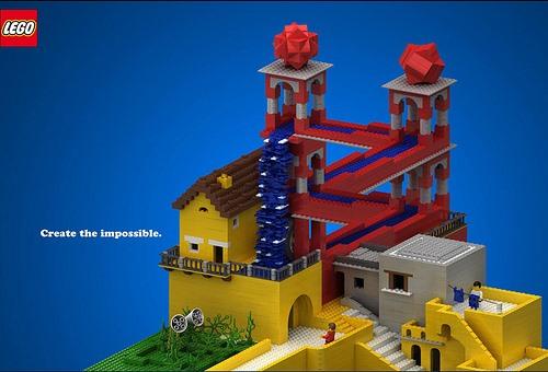 Escher LEGO Style