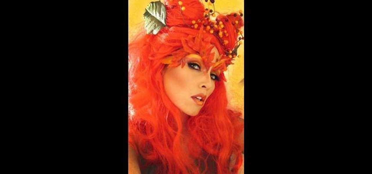 How To Get The Poison Ivy Uma Thurman Inspired Makeup Look Makeup Wonderhowto
