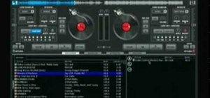 Use Virtual DJ to mix hip hop in a club setting