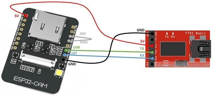 How to Set Up a Wi-Fi Spy Camera with an ESP32-CAM